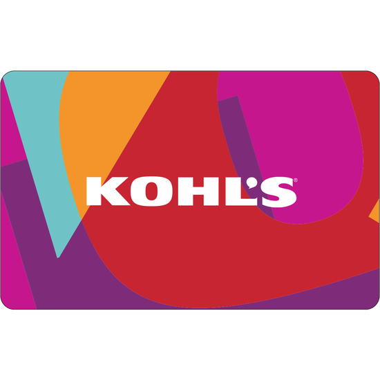 Kohls: $50 Gift CardKohls: $50 Gift Card