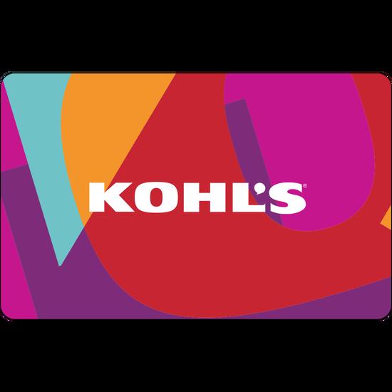 Kohls: $100 Gift CardKohls: $100 Gift Card