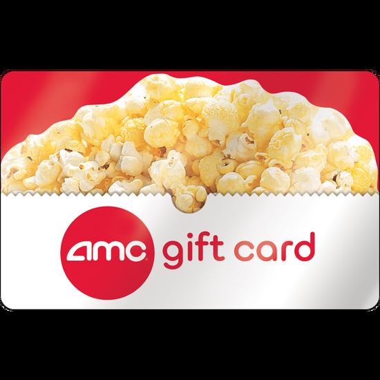 AMC®: $50 Gift CardAMC®: $50 Gift Card