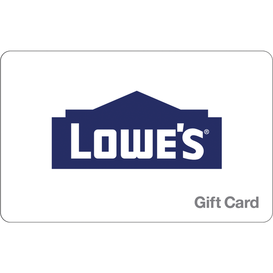 Lowes: $100 Gift CardLowes: $100 Gift Card