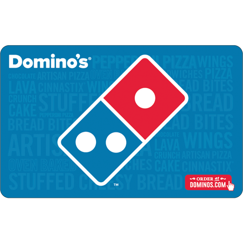 Dominos: $25 Gift Card