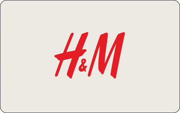 H&M: $15 Gift CardH&M: $15 Gift Card