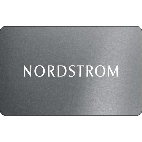 Nordstrom: $25 Gift Card