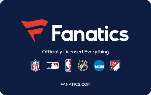 Fanatics: $25 Gift Card