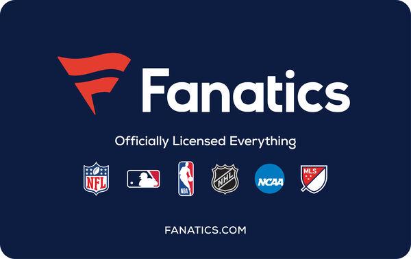Fanatics: $50 Gift CardFanatics: $50 Gift Card