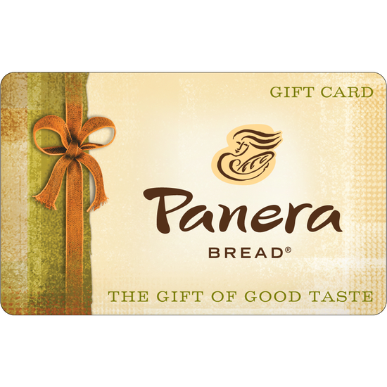 Panera Bread: $10 Gift CardPanera Bread: $10 Gift Card