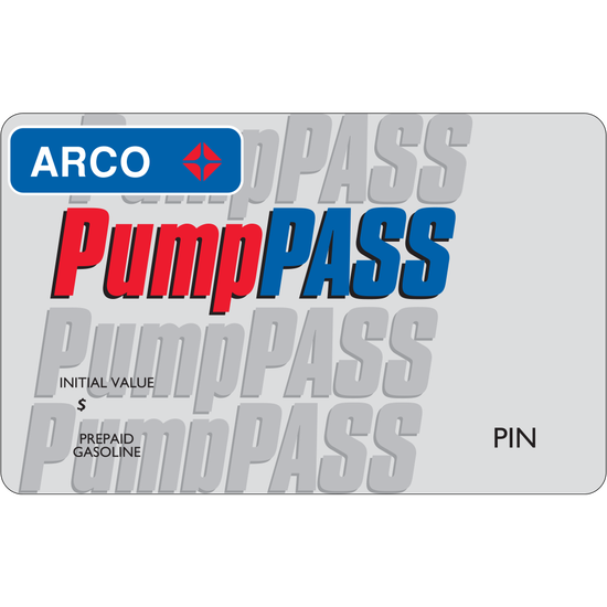 ARCO: $25 Gift CardARCO: $25 Gift Card
