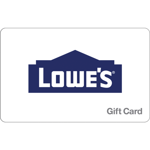 Lowes: $25 Gift Card