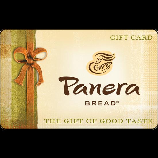Panera Bread: $25 Gift CardPanera Bread: $25 Gift Card