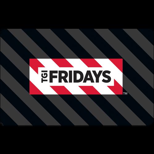 TGI Fridays: $50 Gift Card