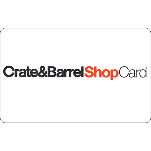 Crate & Barrel: $50 Gift Card