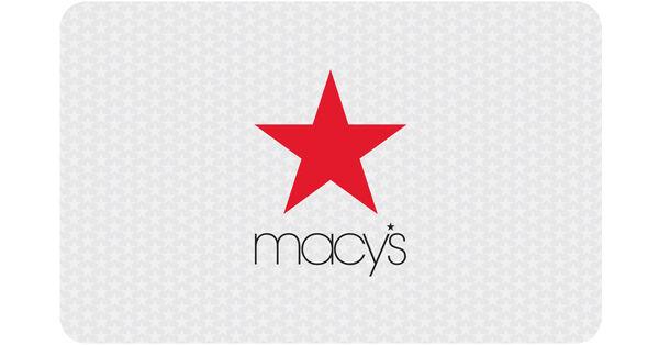 Macys: $50 Gift CardMacys: $50 Gift Card