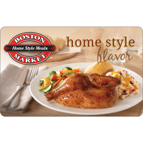 Boston Market: $10 Gift Card