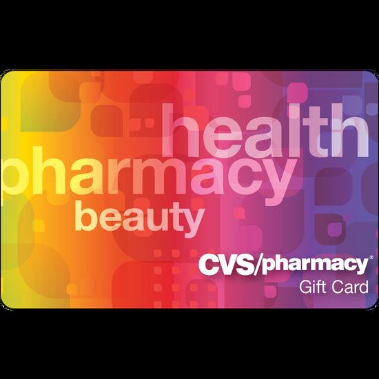 CVS: $25 Gift CardCVS: $25 Gift Card