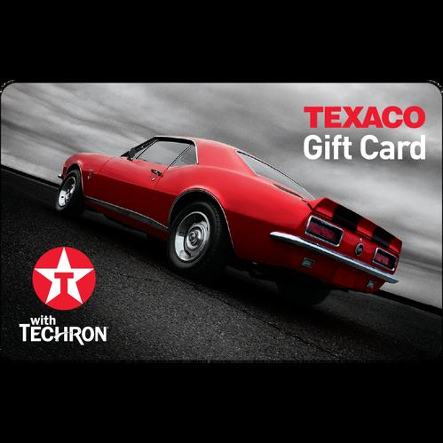 Texaco Gift Card: $25 Gift Card