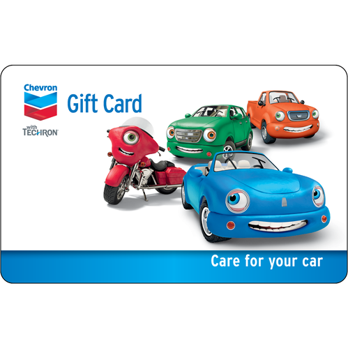 Chevron: $50 Gift Card