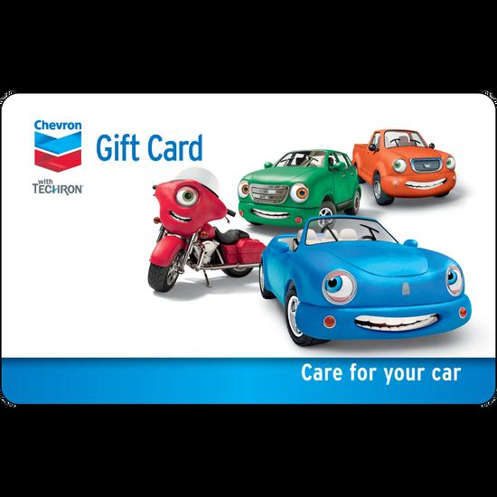 Chevron: $50 Gift CardChevron: $50 Gift Card