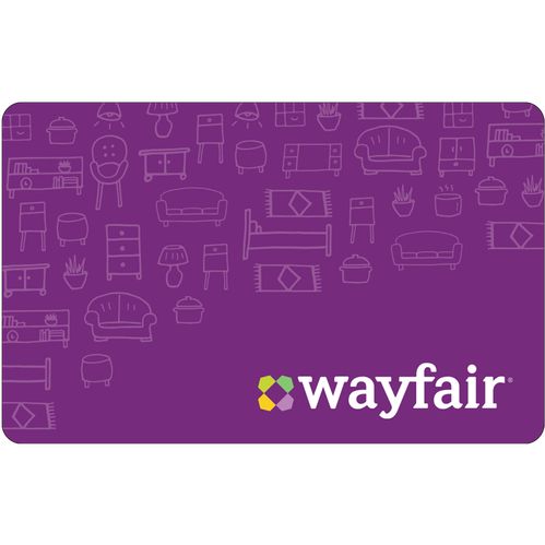 Wayfair: $50 Gift Card