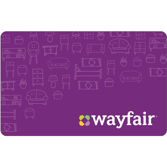 Wayfair: $50 Gift CardWayfair: $50 Gift Card