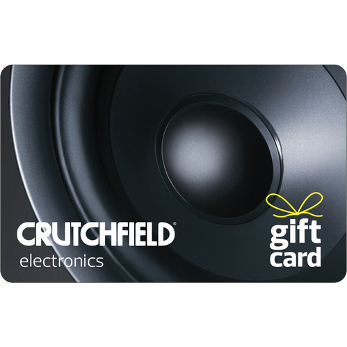 Crutchfield: $25 Gift Card