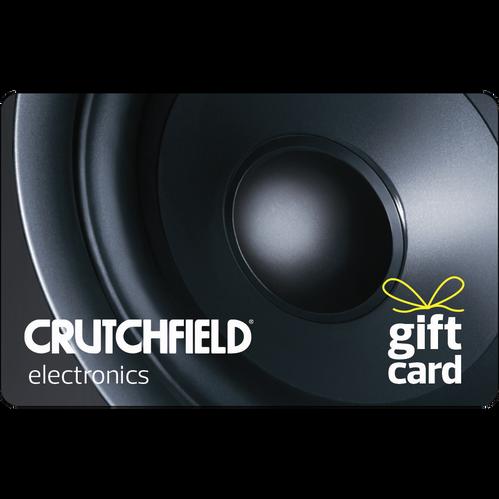 Crutchfield: $50 Gift Card