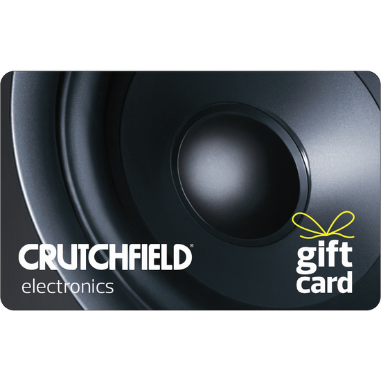 Crutchfield: $25 Gift CardCrutchfield: $25 Gift Card
