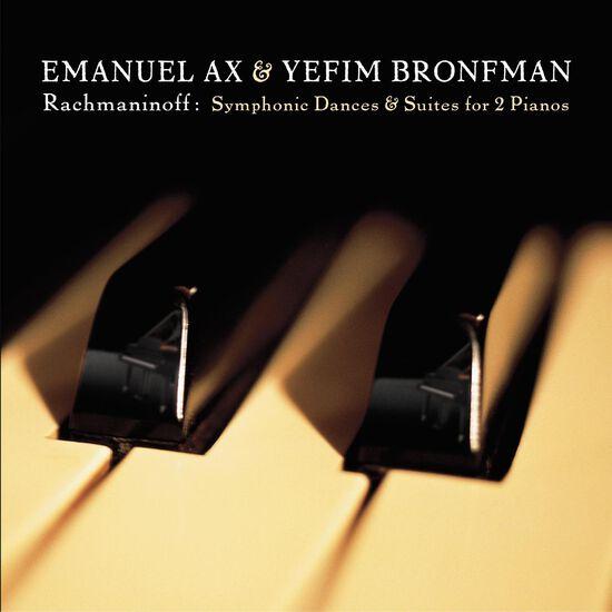 RACHMANINOFF: SUITES FOR 2 PIANOS;SYMPHORACHMANINOFF: SUITES FOR 2 PIANOS;SYMPHO, , hi-res