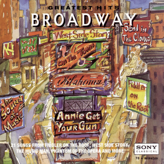 BROADWAY GREATEST HITSBROADWAY GREATEST HITS, , hi-res