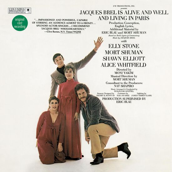 JACQUES BREL IS ALIVE AND WELL AND LIVINJACQUES BREL IS ALIVE AND WELL AND LIVIN, , hi-res