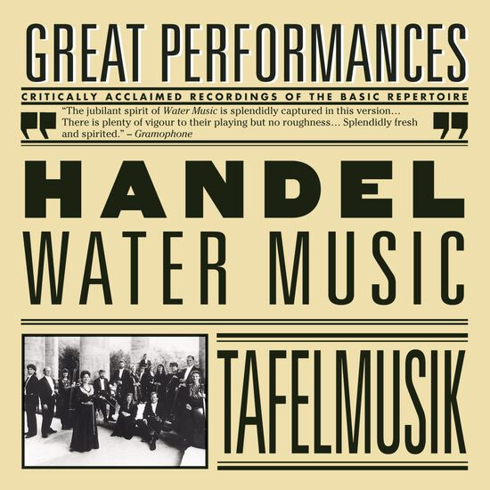 HANDEL: WATER MUSIC, STE. FROM II PASTORHANDEL: WATER MUSIC, STE. FROM II PASTOR, , hi-res