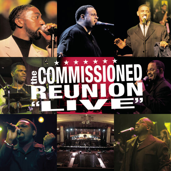 """THE COMMISSIONED REUNION - """"LIVE""""THE COMMISSIONED REUNION - """"LIVE"""", , hi-res"""