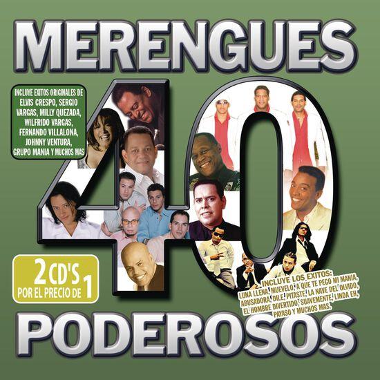 40 MERENGUES PODEROS40 MERENGUES PODEROS, , hi-res