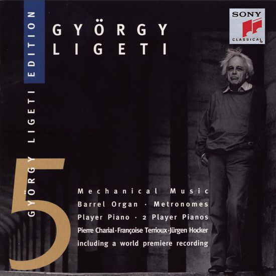 LIGETI: WORKS ADAPTED FOR BARREL ORGANLIGETI: WORKS ADAPTED FOR BARREL ORGAN, , hi-res