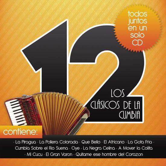 LOS 12 CLASICOS DE LA CUMBIALOS 12 CLASICOS DE LA CUMBIA, , hi-res