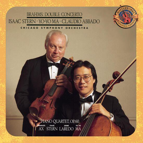 BRAHMS: DOUBLE CONCERTO & PIANO QUARTETBRAHMS: DOUBLE CONCERTO & PIANO QUARTET, , hi-res