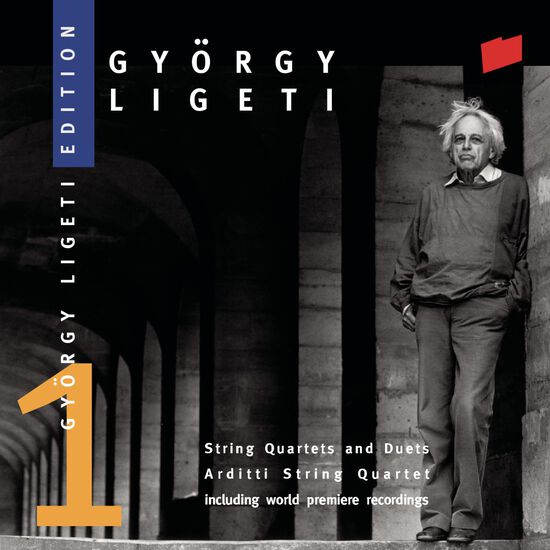 LIGETI: STRING QUARTETSLIGETI: STRING QUARTETS, , hi-res