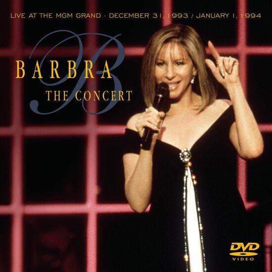 BARBRA-THE CONCERT LIVE AT THE MGM GRANDBARBRA-THE CONCERT LIVE AT THE MGM GRAND, , hi-res