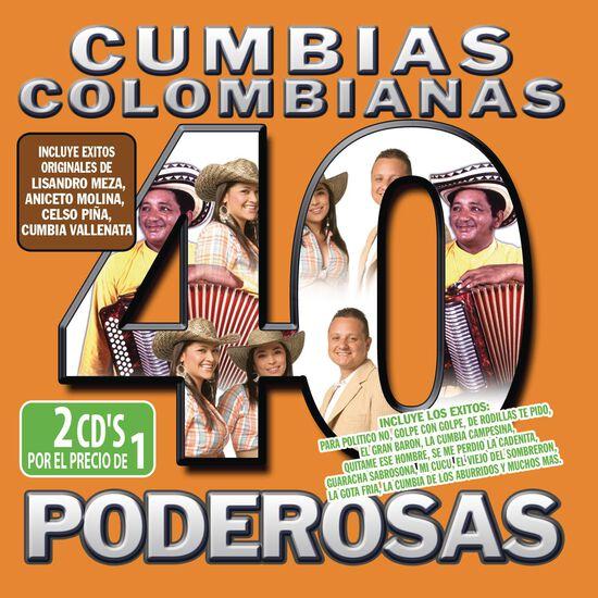 40 CUMBIAS COLOMBIANAS PODEROSAS40 CUMBIAS COLOMBIANAS PODEROSAS, , hi-res