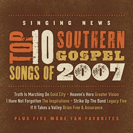 SINGING NEWS FAN AWARDS TOP TEN SONGS OFSINGING NEWS FAN AWARDS TOP TEN SONGS OF, , hi-res