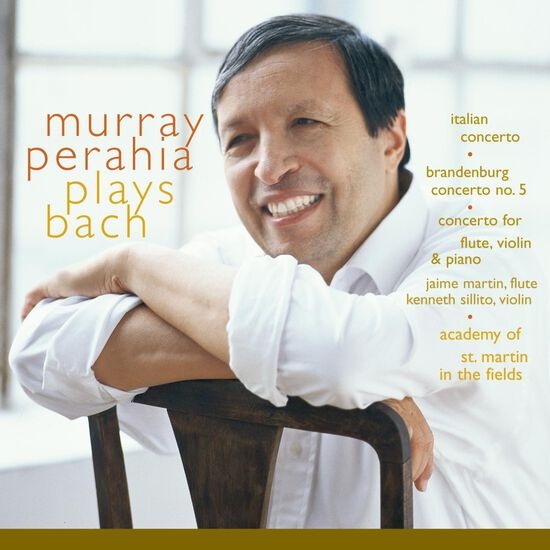 MURRAY PERAHIA PLAYS BACHMURRAY PERAHIA PLAYS BACH, , hi-res