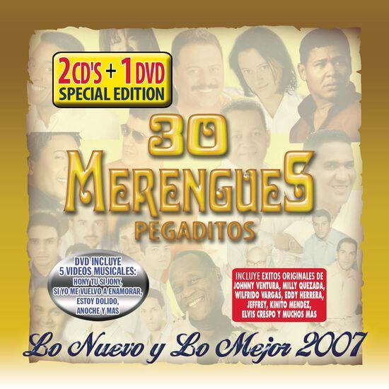 30 MERENGUES PEGADITOS:NUEVO Y MEJOR 20030 MERENGUES PEGADITOS:NUEVO Y MEJOR 200, , hi-res