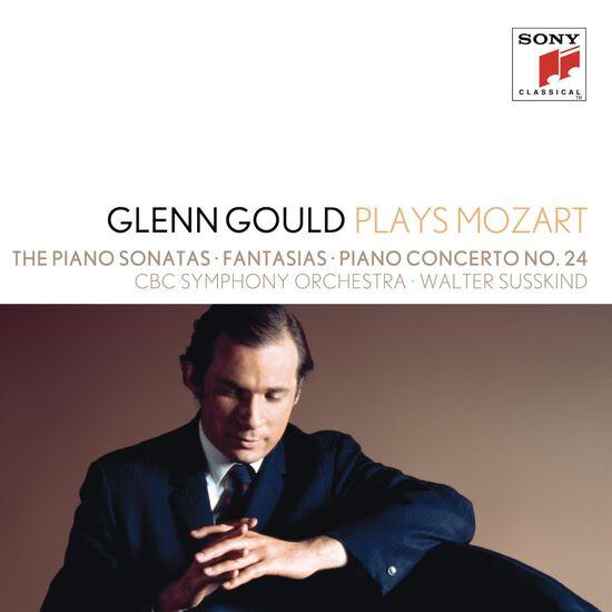 GLENN GOULD PLAYS MOZART: THE PIANO SONAGLENN GOULD PLAYS MOZART: THE PIANO SONA, , hi-res