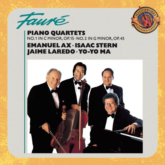FAURE: PIANO QUARTETS NO.1FAURE: PIANO QUARTETS NO.1, , hi-res