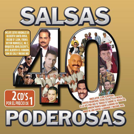 40 SALSAS PODEROSAS40 SALSAS PODEROSAS, , hi-res