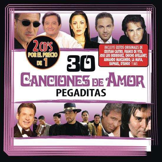 30 CANCIONES DE AMOR PEGADITAS (2 CD)30 CANCIONES DE AMOR PEGADITAS (2 CD), , hi-res