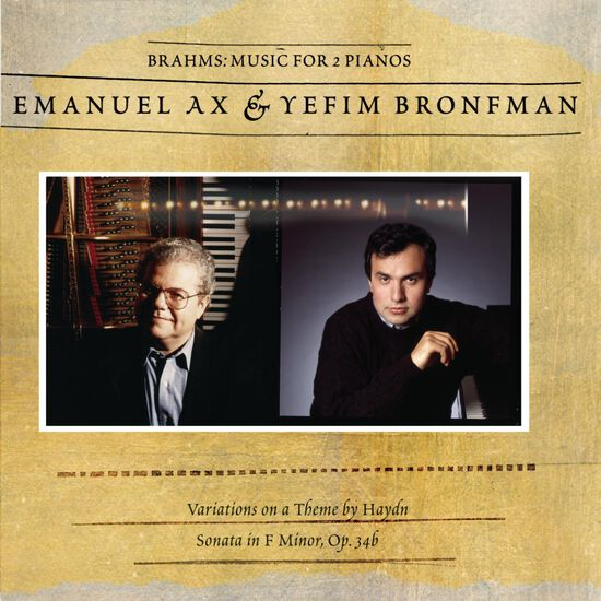 BRAHMS: MUSIC FOR 2 PIANOSBRAHMS: MUSIC FOR 2 PIANOS, , hi-res