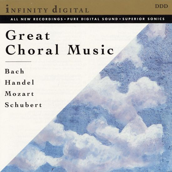 GREAT CHORAL MUSIC: BACH/HANDEL/MOZARTGREAT CHORAL MUSIC: BACH/HANDEL/MOZART, , hi-res