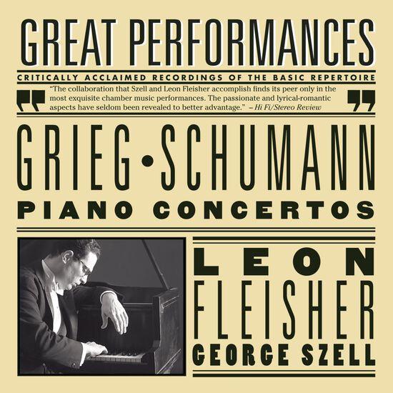 GRIEG & SCHUMANN: PIANO CONCERTOSGRIEG & SCHUMANN: PIANO CONCERTOS, , hi-res