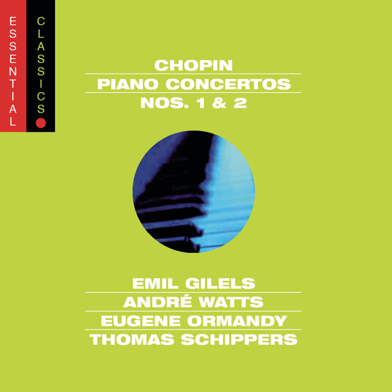 CHOPIN: PIANO CONCERTOS 1 & 2CHOPIN: PIANO CONCERTOS 1 & 2, , hi-res