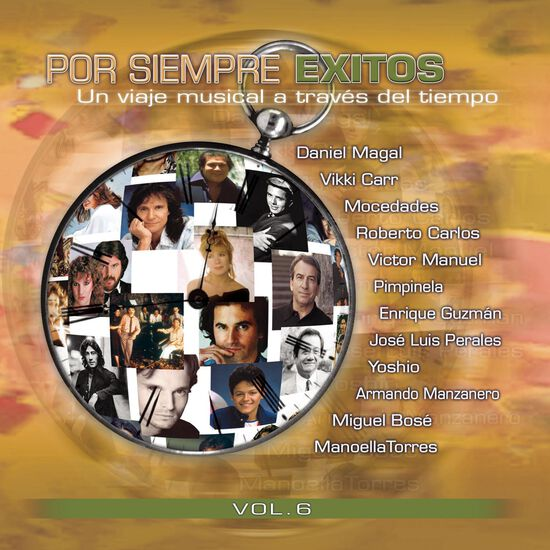 POR SIEMPRE EXITOS, VOL. 6POR SIEMPRE EXITOS, VOL. 6, , hi-res